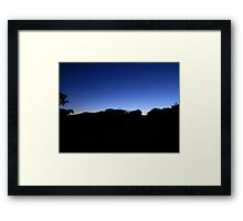 Secret Beach Framed Print