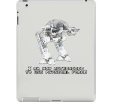 ED-209 - Authorized [Robocop] iPad Case/Skin