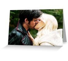 A Kiss in Camelot Greeting Card