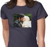 A Kiss in Camelot Womens Fitted T-Shirt