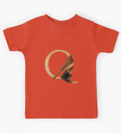 Q for Quill Kids Tee