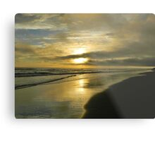 North Carolina Sunset Metal Print