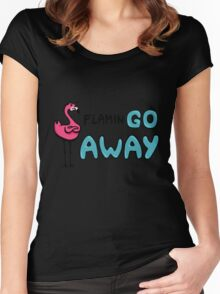 FlaminGo Away Women's Fitted Scoop T-Shirt