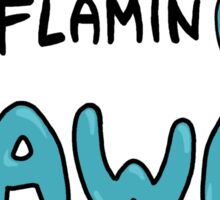 FlaminGo Away Sticker