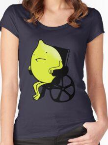 Sandy Lemons Logo Women's Fitted Scoop T-Shirt