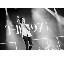 Matty Healy - The 1975 Photographic Print