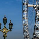 The London Eye by Jeff  Wilson