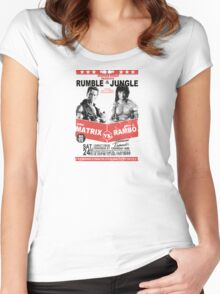 Rumble In the Jungle Women's Fitted Scoop T-Shirt