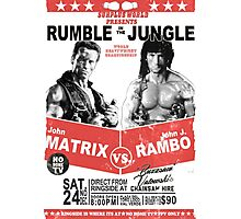 Rumble In the Jungle Photographic Print