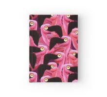 Flocking Flamingos Hardcover Journal