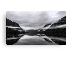 Mist on Mirror Lake Canvas Print