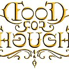 Food For Thought (Mirror Image Ambigram) by rwpstudio