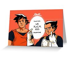 Romance is dead Greeting Card