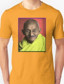 Mahatma Gandhi Pop Art Graphic T-Shirt Unisex T-Shirt