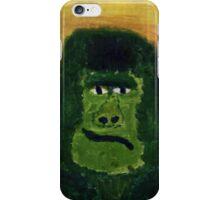 Grumpy Green Gorilla iPhone Case/Skin