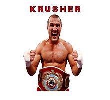 Sergey Kovalev Krusher boxing  Photographic Print