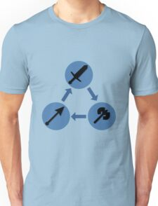 WEAPON TRIANGLE   Fire Emblem Unisex T-Shirt