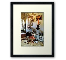 no title (xi) Framed Print