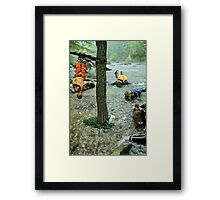 no title (ii) Framed Print