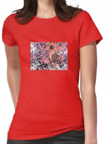 Ganymede Womens Fitted T-Shirt