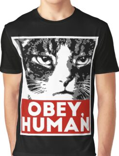 OBEY, HUMAN Graphic T-Shirt