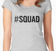 Squad Women's Fitted Scoop T-Shirt