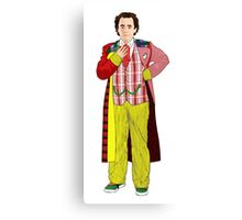 Regenerated 7th Doctor Canvas Print