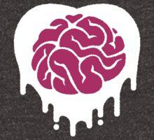 white (heart) brainz by travbos