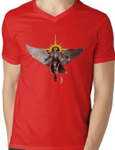 Warhammer 40k Living Saint Vector Mens V-Neck T-Shirt