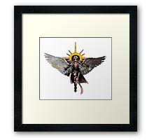 Warhammer 40k Living Saint Vector Framed Print