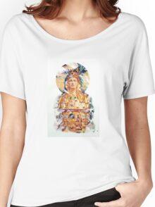 Golden Madonna Women's Relaxed Fit T-Shirt