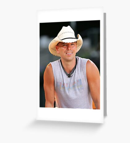 Kenny Chesney Greeting Card