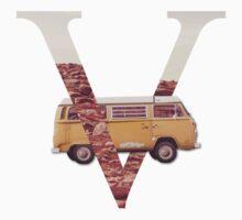 V for Van Baby Tee