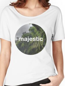 Unofficial Majestic Casual design 2 Women's Relaxed Fit T-Shirt