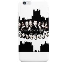 Downton Abbey Color Ink Drawing  iPhone Case/Skin
