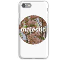 Majestic casual unofficial design iPhone Case/Skin