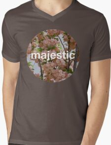 Majestic casual unofficial design Mens V-Neck T-Shirt
