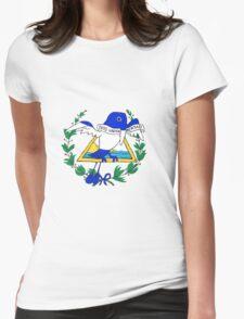 El Salvador Momoto (Transparent) Womens Fitted T-Shirt