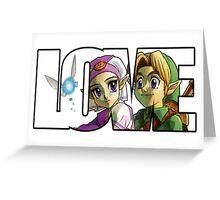 Zelda In Love  Greeting Card