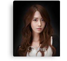 Yoona SNSD Canvas Print