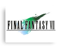 FF7 Logo Highest Quality Metal Print