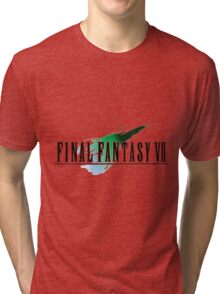 FF7 Logo Highest Quality Tri-blend T-Shirt