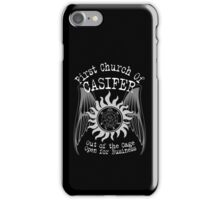 First Church of Casifer iPhone Case/Skin