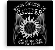 First Church of Casifer Canvas Print