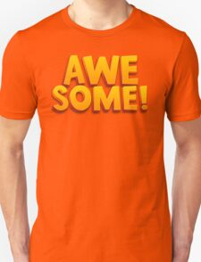 Awesome 3D Comic Text T Shirt T-Shirt