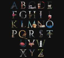 Alphabet Baby Tee