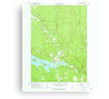 New York NY Redfield 136040 1960 24000 Canvas Print