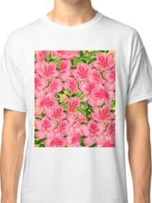 Beautiful Pink Vintage Flowers  Classic T-Shirt