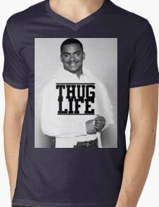 Thug Life Mens V-Neck T-Shirt