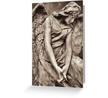 angel of fate & sorrow  Greeting Card